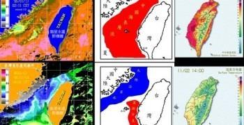 台灣島季節性的溫度變化受到洋流的季節變化的影響