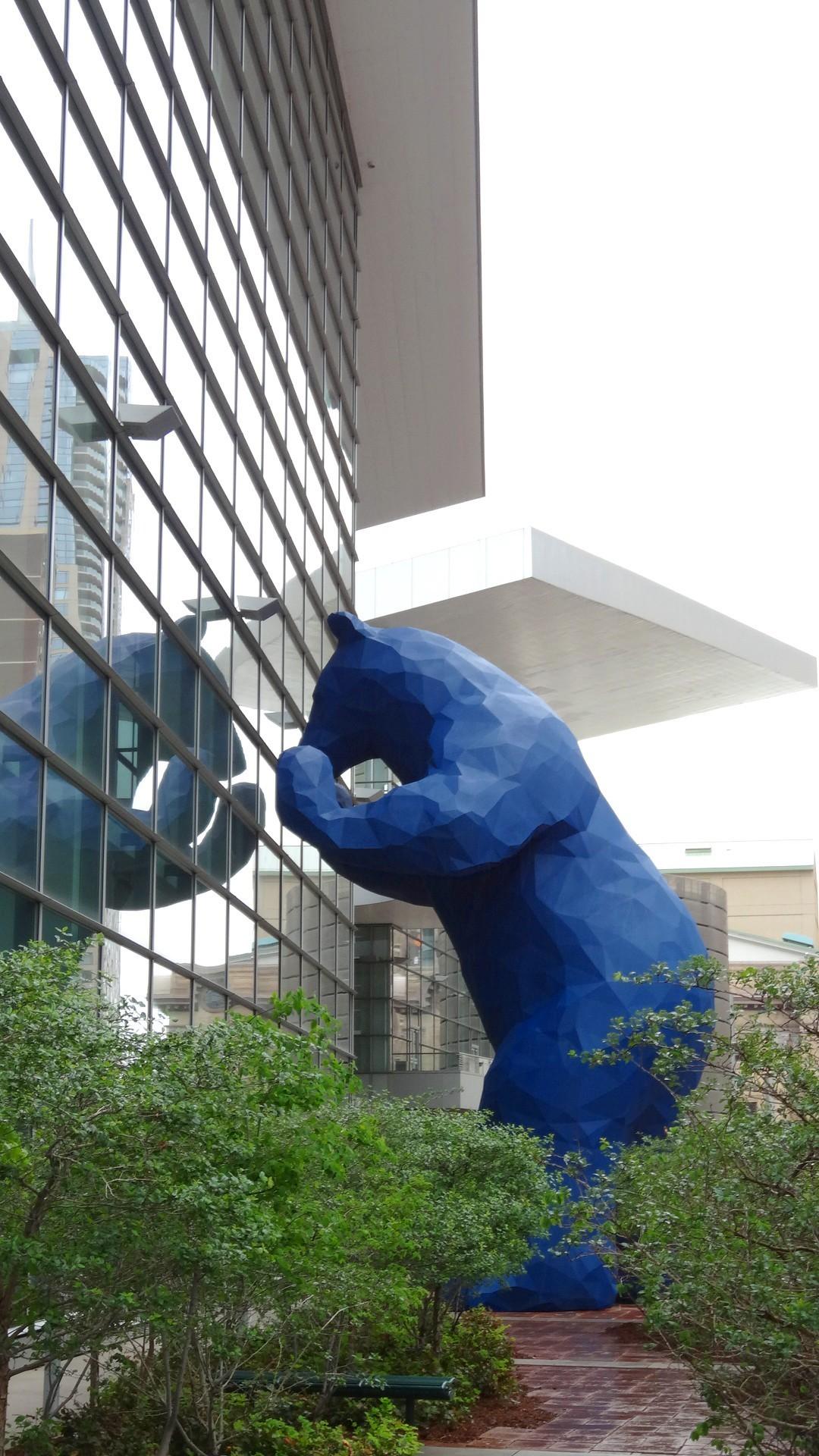 【2013美國微生物學會年會】丹佛的微生物大拜拜跟藍色大熊