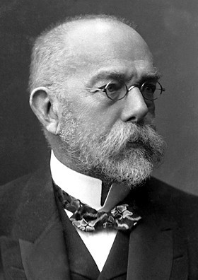 德國醫師/生理學家Robert Koch。 Image courtesy of Nobelprize.org