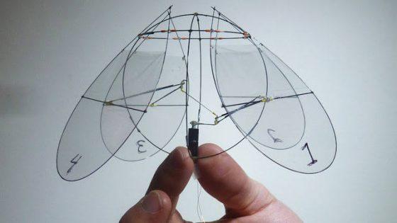 Jellyfish-like-Flying-machine