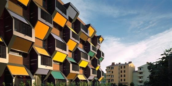 82 Honeycomb-inspired apartments in Izola, Slovenia