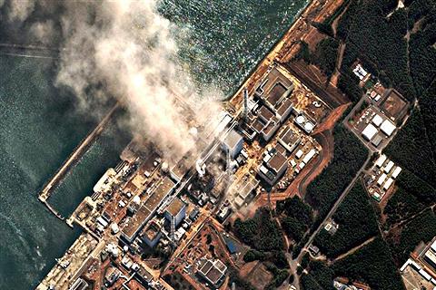 福島核電廠空照圖