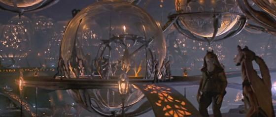 《星際大戰首部曲》裡「那卜星」的海底城市