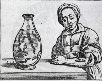 在西元1638年,歐洲就有使用水蛭治療的記錄