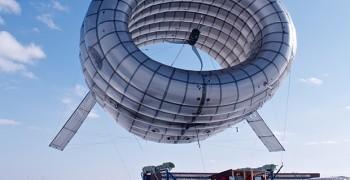 顛覆你的想像!高空風力發電系統(這像飛船的東西是什麼?)