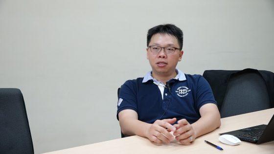 銘傳大學建築系王价巨老師(圖片來源:作者自攝)