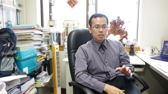 政治大學地政學系副教授孫振義(圖片來源:作者自攝)
