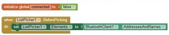 圖2 指定藍牙配對裝置清單。