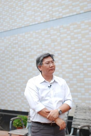 自行車中心蔡博名經理。
