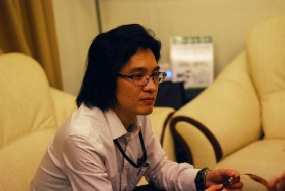 工研院南分院雲端服務中心的研發經理黃永慶博士。