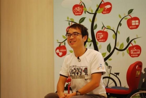 自行車中心-團隊中的健康促進管理師蔡健儀
