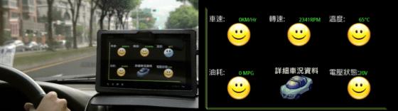 行車診斷系統不只診斷車況,還可以偵測路況,並利用雲端通知其他車輛。
