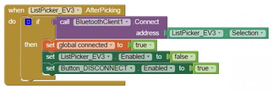 圖2b 連線成功後啟動相關元件。
