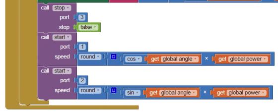 圖4c 姿態感測器的姿態改變事件(下半)。