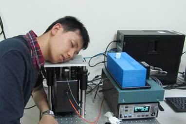 臺大第四代原型機: 組織及細胞之三維動態斷層掃描儀