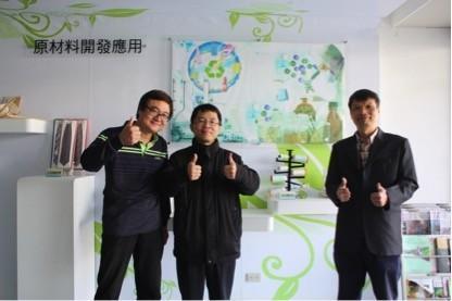 開發蓄光纖維的材化所團隊。