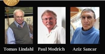 2015年諾貝爾化學獎-DNA的修補機制