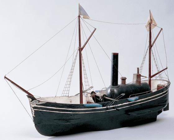 蒸汽船雛型