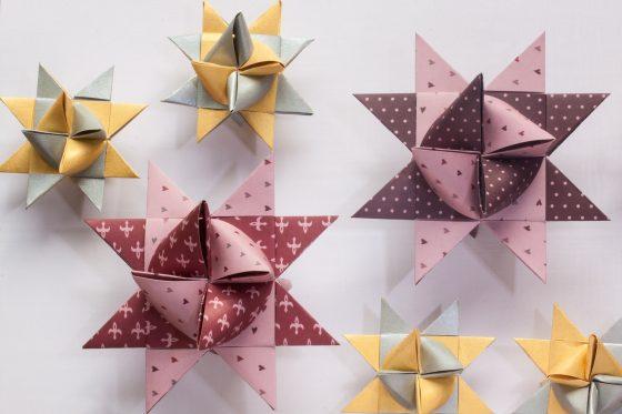 圖一:紙可以摺疊出許多複雜的形狀,DNA 也可以喔!