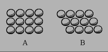 圖3. 克卜勒《論六角雪花》裡的兩個圖。