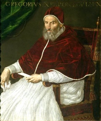 (Pope Gregory XIII)source:wikipedia