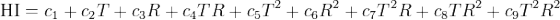 Heat Index formula