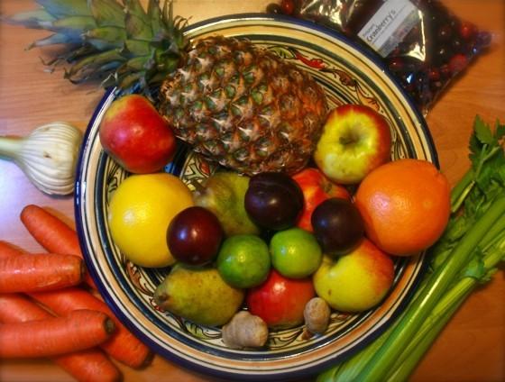 蔬菜水果中都含有甲醛。來源:Pixabay