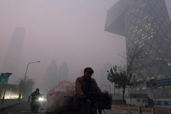 北京空氣汙染相當嚴重。圖/flickr @大杨