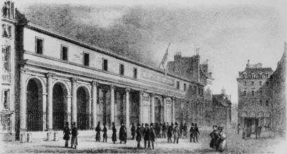 當時的巴黎大學醫學院(圖片來源)