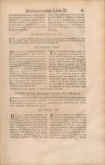 Diophantus-II-8-Fermat