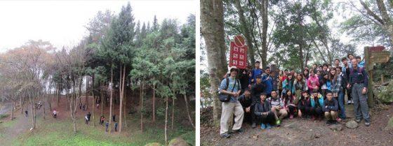 至森林遊樂區進行系統推廣前置勘查與試驗。圖/作者提供