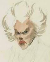 阿德里安-馬里·勒讓德僅存的肖像。