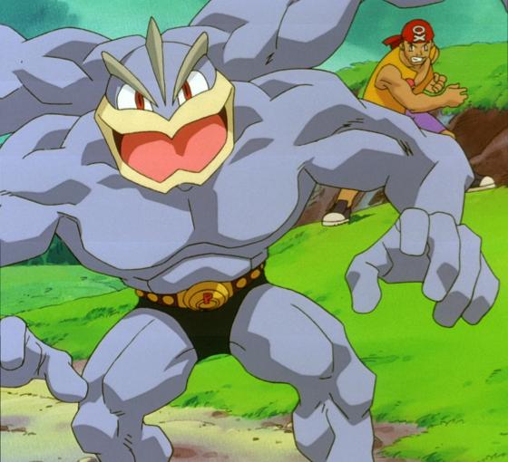 後面的仁兄,你很有勇氣。圖/Pokémon Wiki - Wikia