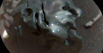 鐵鎳隕石這類隕石在地球很常見,之前也曾在火星發現,不過這是好奇號首度使用化學相機的雷射光譜儀分析。圖/NASA