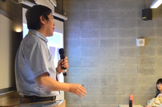 臺北市立天文科學教育館的研究組吳志剛組長