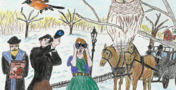 1900 年第一次聖誕節鳥口調查雖然參與的人數甚少,但卻是一個重要的開始。這個活動讓北美的人們逐漸將鳥類從狩獵的對象轉變為欣賞和保護的對象。隨著這項活動的規模和參與者逐年增加,也成為現今全球鳥類研究非常重要的數據來源。 圖/嚴融怡