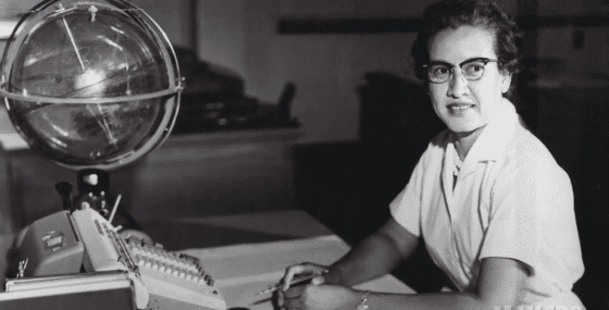 凱薩琳.強森(Katherine Johnson)source:NASA