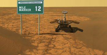 巨大火星塵暴危機!我們要跟機遇號說再見了嗎?
