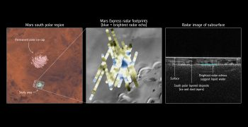 火星上有水?冰層之下的液態鹽湖