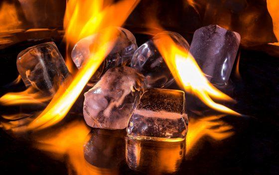 火焰 V.S. 冰凍