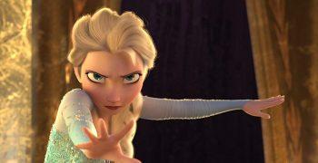 動畫電影《冰雪奇緣》(Frozen)的艾莎公主