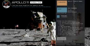登陸月球50週年該怎麼慶祝?快去玩超擬真線上太空控制台!