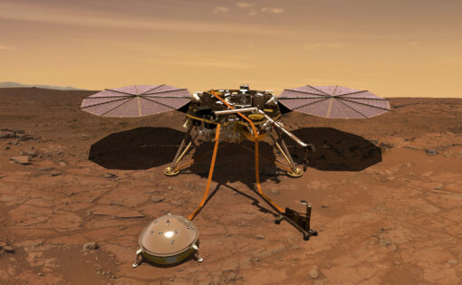InSight on the Surface of Mars